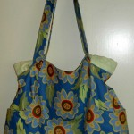 Blue Flower Tote