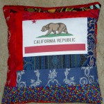 2011 NSGW Bear Flag Pillow #1
