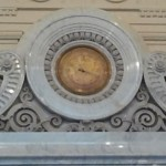 Clock Curlicue detail