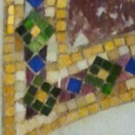 Venetian Glass corner detail