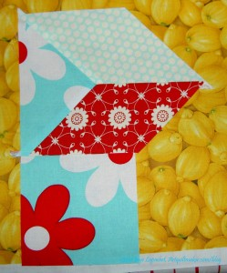 Sew Square to Segment 1