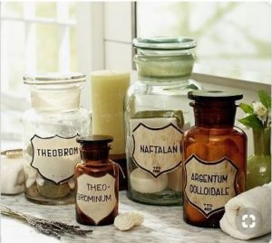 Apothecary Jars by Pottery Barn