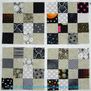 2014: Black/Grey Donation Quilt