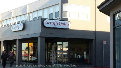Scruffy Quilts - outside view