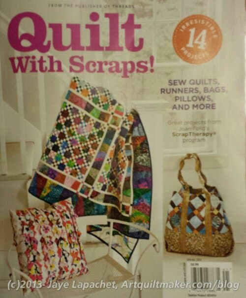 Threads Publication: Quilt with Scraps