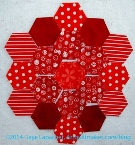 Cut 19 Hexagons