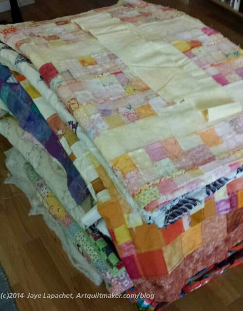 TFQ's UFOs, Finishes and In Process Quilts