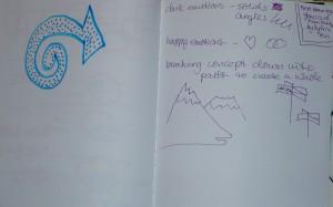 Art Journal Workshop Notes & Sketches