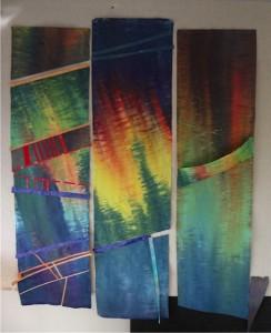 Ann Grundler Triptych