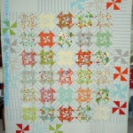 Disappearing Pinwheel Finished