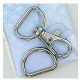 Atkinson Designs Swivel Hook & D Ring Set