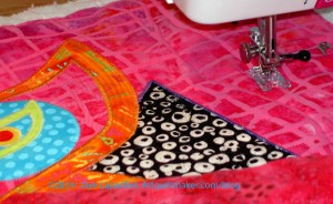 See: Quilting the Background