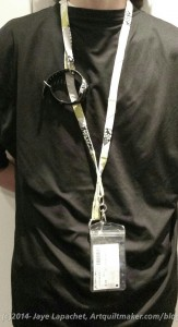 Lanyard in use