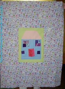 Rhonda's House Block quilt