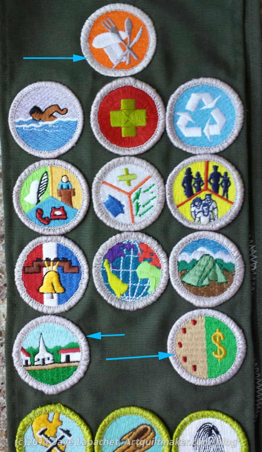 Last Merit Badges Artquiltmaker Blog