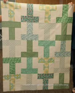 Finished T Quilt