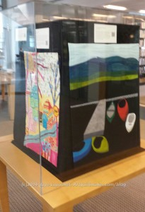 My Quilts in Display Case