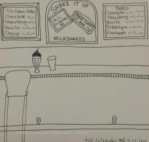 Creative Prompt Response #218: Milkshake