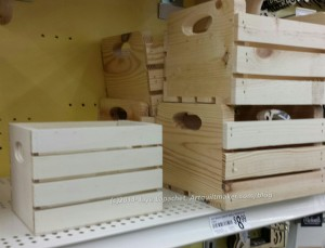 Michael's: smaller crates
