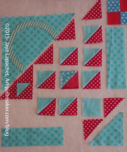 Start sewing basket together