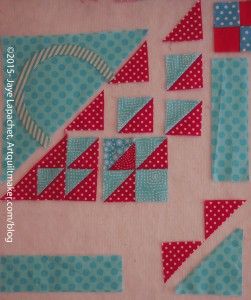 Sew Triangle to HSTs