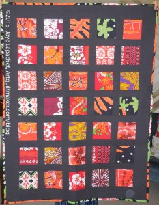 BAMQG Hawaiian Quilt (front) by Gerre & Jaye