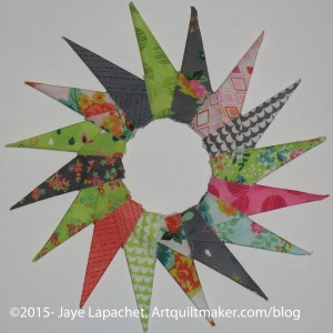 Fresh Cuts Origami Starburst Wreath