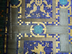 Floor tile designs - indoor pool