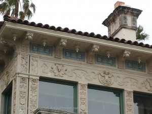 Cottage Bas Relief