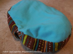Turquoise Cat Bed