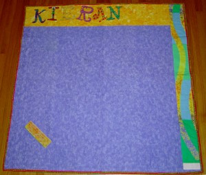 Kieran's Hen & Chicks - Back