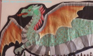 Dragon detail