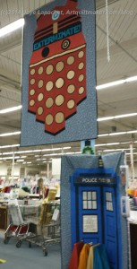 Dr. Who etc Display Quilts