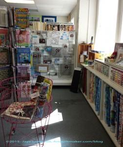 Quilter's Corner books etc