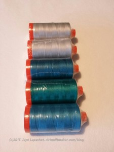 Matching Colors, Ordering Thread