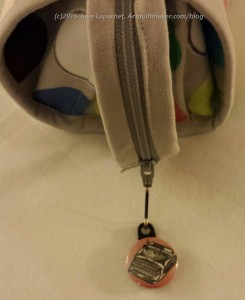Sew Together Bag with zipper pull