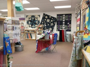 Morning Star Quilts, main room
