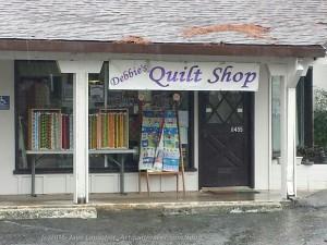 Debbie's Quilt Shop front