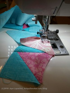 Sewing Pie Points