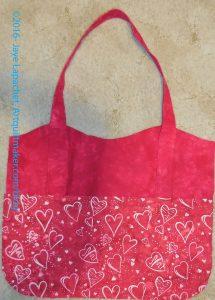 Heart Bag front