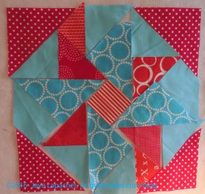Partial Seam Triangles Sewn