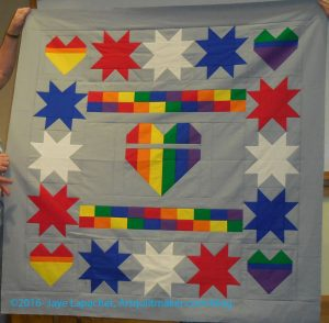 Pulse Quilt Wallhanging by Mike