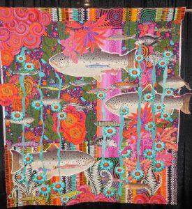 Cactus Fish, a collaboration between Freddy Moran and Alethea Ballard, Walnut Creek, Calif.