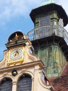 Glockenspiel on Glockenspielplatz