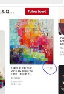 Pinterest Sharing of FOTY