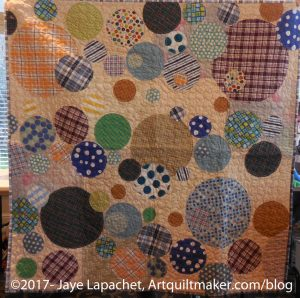 Simply Moderne Bubble Quilt