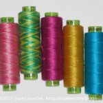 Sue Spargo Threads from Stitch