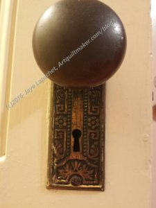 Parlor Hall doorknob
