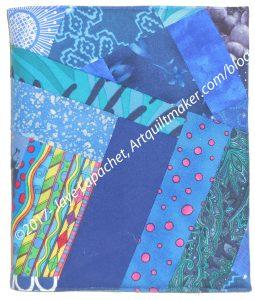 Dark Blue Journal Cover