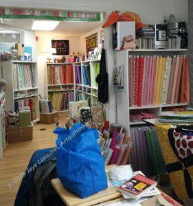 Sugar Pine Quilts, Interior